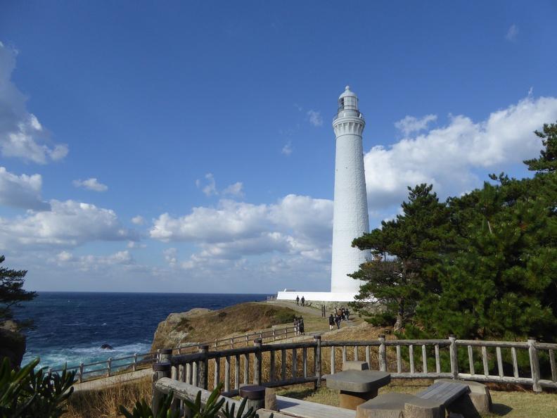 The light house at Hinomisaki