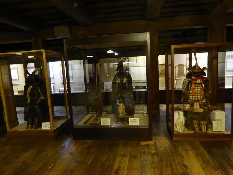 Scary (but small) samurai attire
