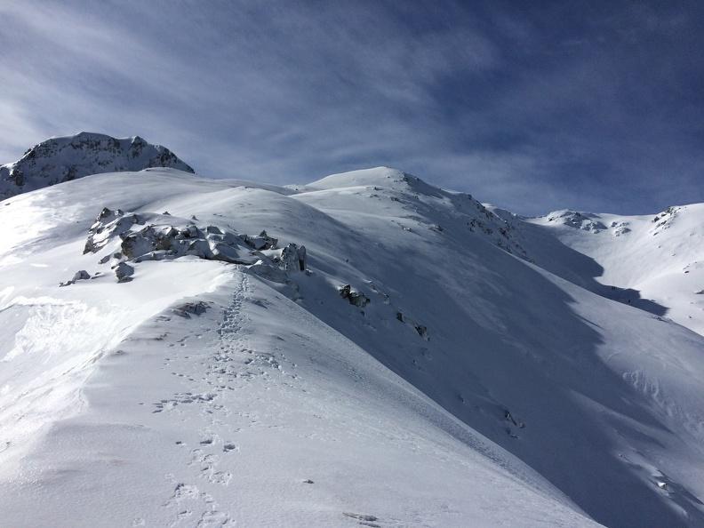 On the ridge from Col Ichinokoshi (一ノ越峠) to Mt Jodo (浄土山)