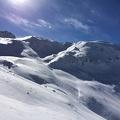 Photo 2014-11-30 13 09 02.jpg -- Left Ryuo-dake (龍王岳), right Mt. Dojo (浄土山), in the middle where I skied down