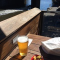 Photo-2014-12-13-15-30-50_3943.JPG -- Beer and olives along the Yarra River