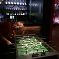Photo 2014-12-15 23 34 45.jpg -- Night time table soccer - when all my opponents were finished, I had to play alone!