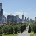P1000907.JPG -- View onto Melbourne center from the Shrine of Remembrance