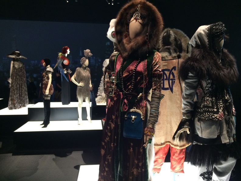 National Gallery of Victoria - some of the works of Gaultier