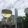 Photo 2014-12-18 11 12 45.jpg -- Chilling out along Melbourne's Yarra River - with Austrian Grüner Veltliner