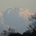 P1010071.JPG -- Evening light on the mountains of Tateyama