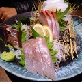 P1010301.JPG -- Sashimi in Sasebo
