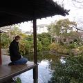 P1010329.JPG -- Enjoying a tranquil moment in Shimabara