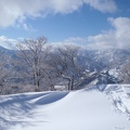 御世仏山 025.JPG -- Blue sky over typical Hokuriku landscape