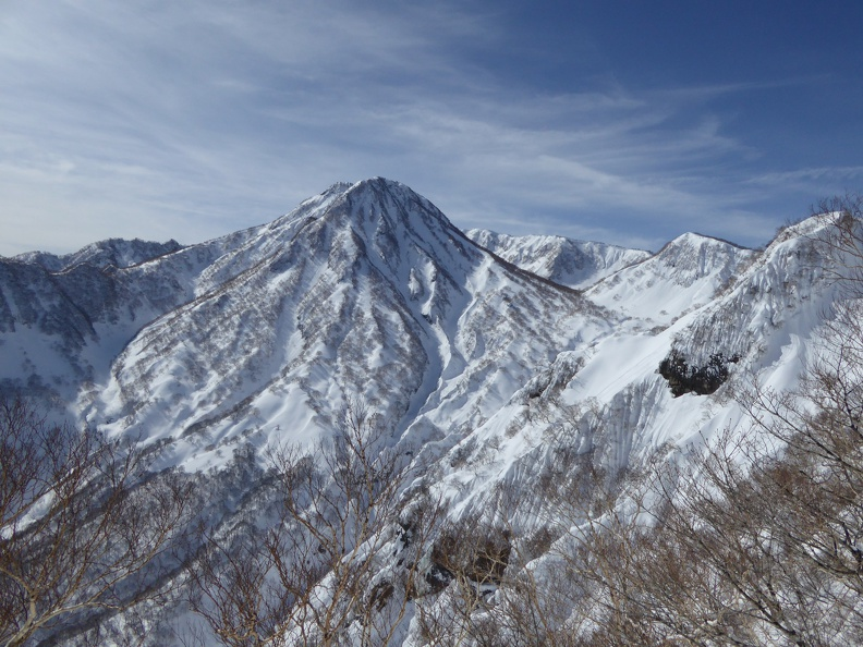 Mount Myoko is standing nearby