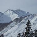 P1010802.JPG -- Looking back on the ridge we climbed. Looks nice.