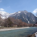 004.JPG -- Arrived in Kamikochi, but where is the snow?