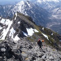 097.JPG -- Descending from the first gendarm down direction the 2/3/4.