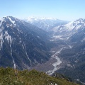 111.JPG -- View down to Kamikochi