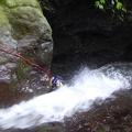P1020440.JPG -- Fighting in the waterfall