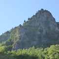 P1020573.JPG -- Today's target, the left-hand ridge of Eboshi-iwa (烏帽子岩左稜線)