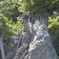 P1020581.JPG -- Enjoyable climbing on Eboshiiwa