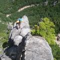 064.jpg -- Yeah yeah yeah, climbing is fun!
