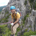 077.jpg -- First time rappel out there in the wild - like a professional!