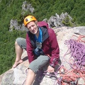 122.jpg -- Me belaying at the top