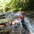 017.JPG -- Masumi enjoying the river