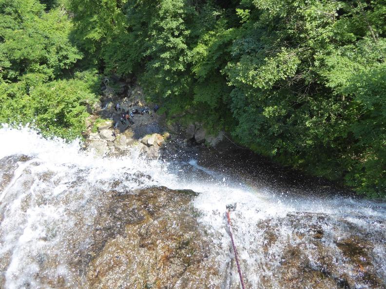 And yeaaahhhh - into the waterfall