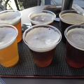 P1030035.JPG -- Craft beer tasting - all 6 for me!