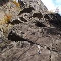 017.jpg -- Preparing for the climb