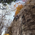052.jpg -- Masumi fighting in the impossible slab route