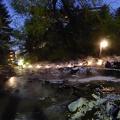 P1030862.JPG -- Night impression of the Sainokawara Park 西の河原公園