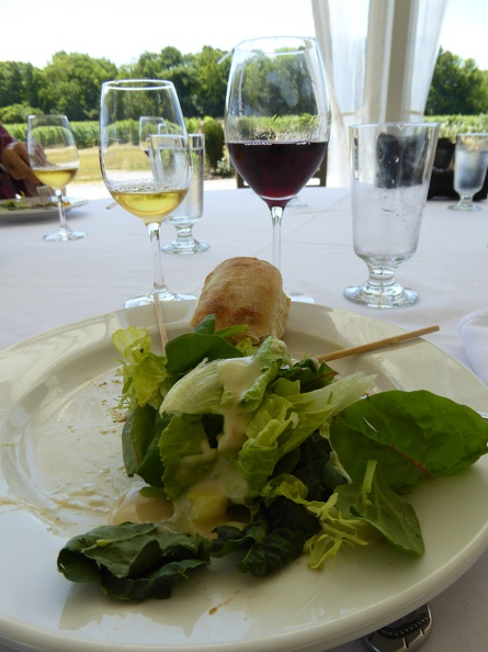 Lunch impressions at Château des Charmes