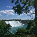 -- First view onto the American Falls