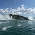 -- Horseshoe Falls in view