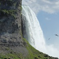 -- The edge of the Horseshoe Falls
