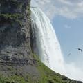 -- The edge of the Horseshoe Falls