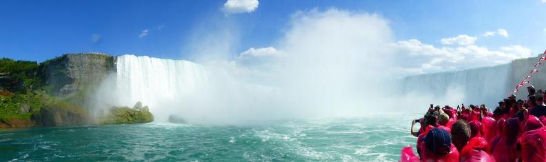 Panorama of the Horseshoe Falls
