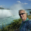 -- Me in front of the Horseshoe Falls