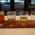 -- Beer tasting at Niagara Brewery, IPA, Amber ale, Lager, and some Light Fruity Radler beer.