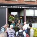 -- Entrance to the Porcupine's Quill, a local bookshop doing excellent printing