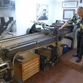 -- The folding machine creates from a printed signature 16 pages in proper order.