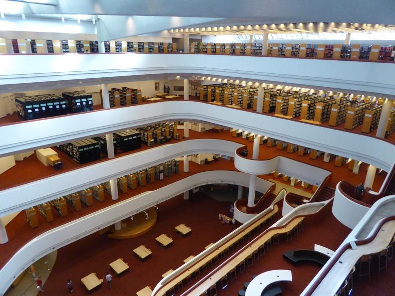 The Toronto Reference Library's atrium