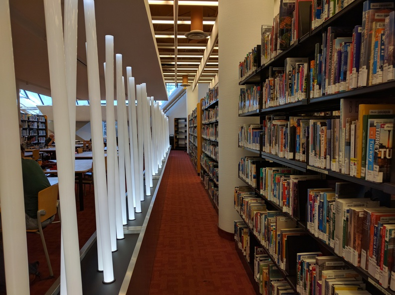 Art Light installation in the Toronto Reference Library