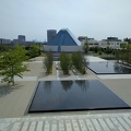 -- View onto the park and the Ismaili Centre Toronto