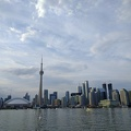 -- View onto Toronto from the boat