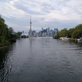 -- Toronto skyline from the islands