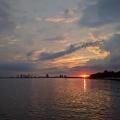 -- Sunset near Toronto