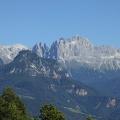 -- View into the Rosengarten (Catinaccio)