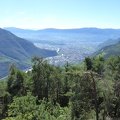 -- Panorama onto Bozen and the surrounding mountains
