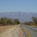 -- View onto the Drakensbergen
