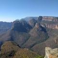 -- The Three Rondavels at Blyde River Canyon